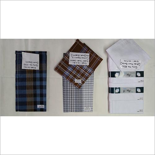 Check Cotton Men's Handkerchiefs