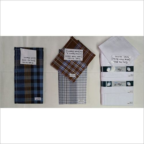 Check Cotton Men's Handkerchiefs