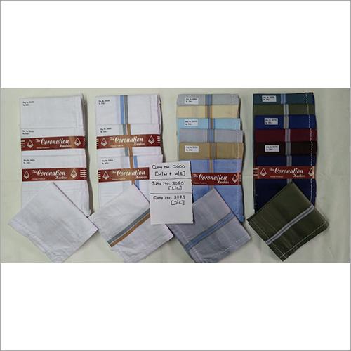 Dark Multi Color Mens Handkerchief