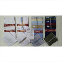 Dark Multi Color Mens Handkerchief