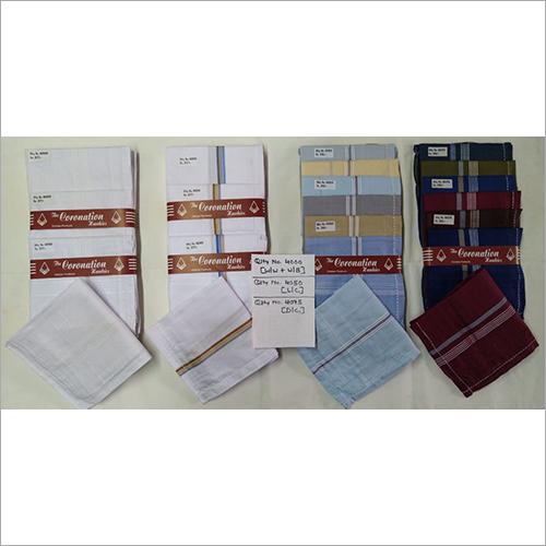 Check Men's Handkerchiefs