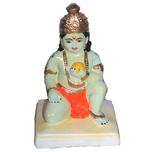 Lord Krishna  Clay Statue