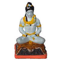 Shiv Clay Statue