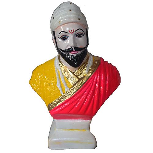Shivaji Maharaj  Clay Statue