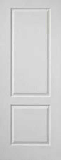 white modern bedroom Moulded carving wooden flush doors