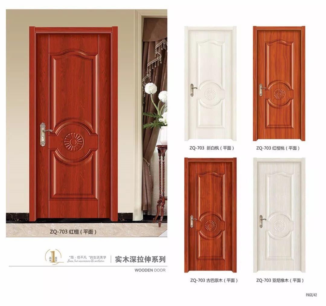 5mm MDF with melamine attractive  moulded door