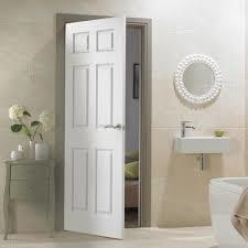 Modern flat safety mdf mould door