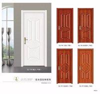 Moulded Sliding folding wooden single door