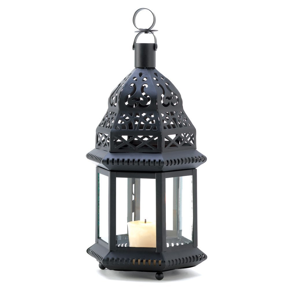 Moroccan Ornate Metalwork Birdcage Candleholder Lantern