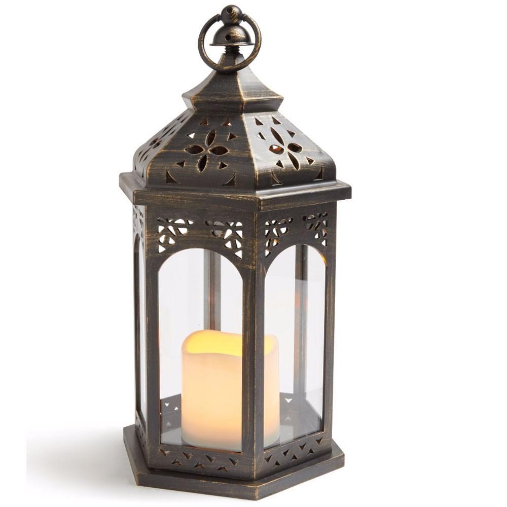 Metal Lanterns Candle Holder