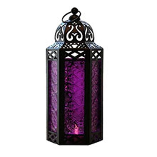 Vela Lanterns Moroccan Style Candle Lantern Holder