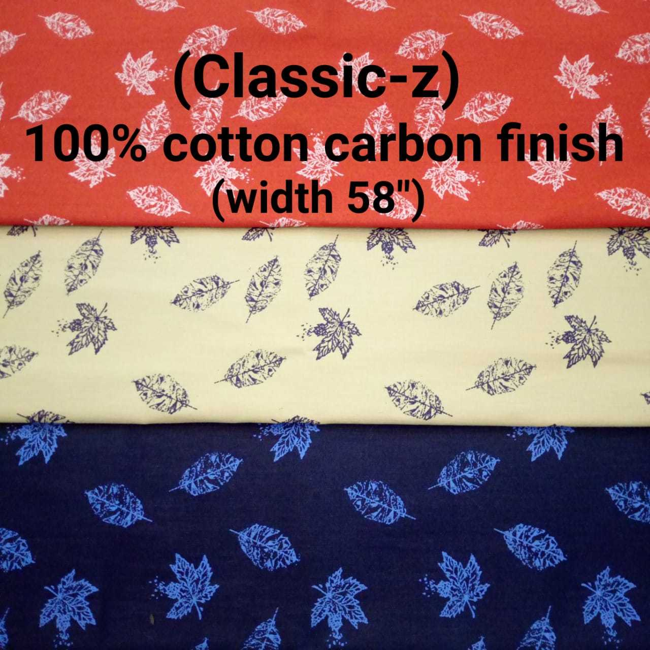 CLASSIC-Z 100% cotton carbon finish