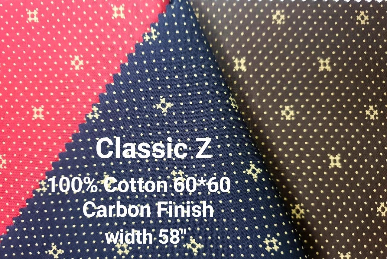 CLASSIC-Z 100% cotton carbon finish