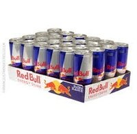 Great Red Bull Energy Drink, 24 Pack of 8.4 Fl Oz