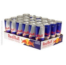 Red Bull Energy Drink 250 Reds / Blue / Silver, Energy
