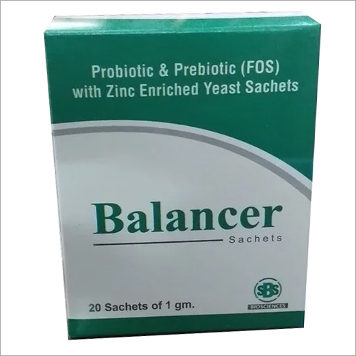 Probiotic & Prebiotic Zinc Enriched Yeast Sachets
