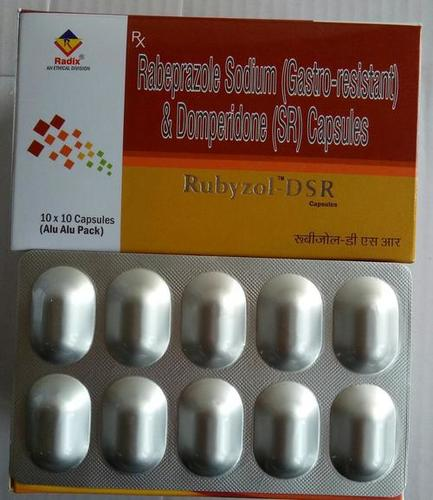 Rabeprazole 20 mg & Domperidone 30 mg (SR) Tablet & Capsule