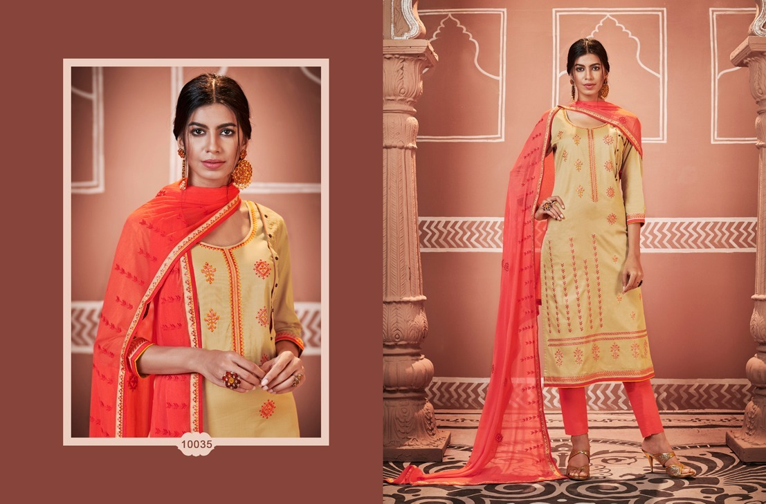 Cotton Silk Base Salwar Suit Material