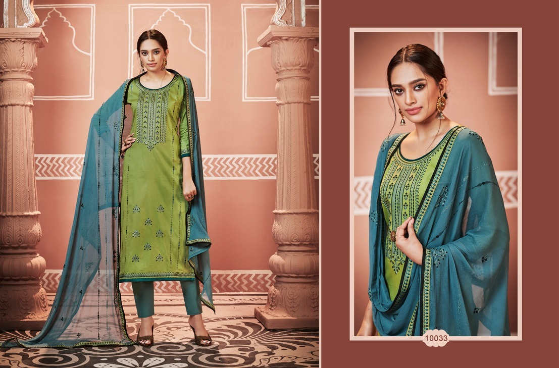 Cotton Silk Base Salwar Suit Material
