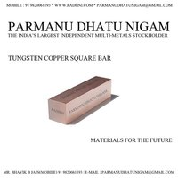 Tungsten Copper Square Bar
