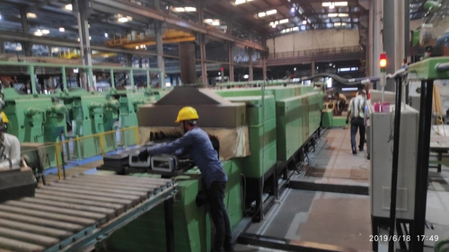 CONTINUOUS CRGO CORE ANNEALING FURNACE