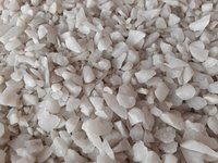 Snow White Quartz Crushed Stone