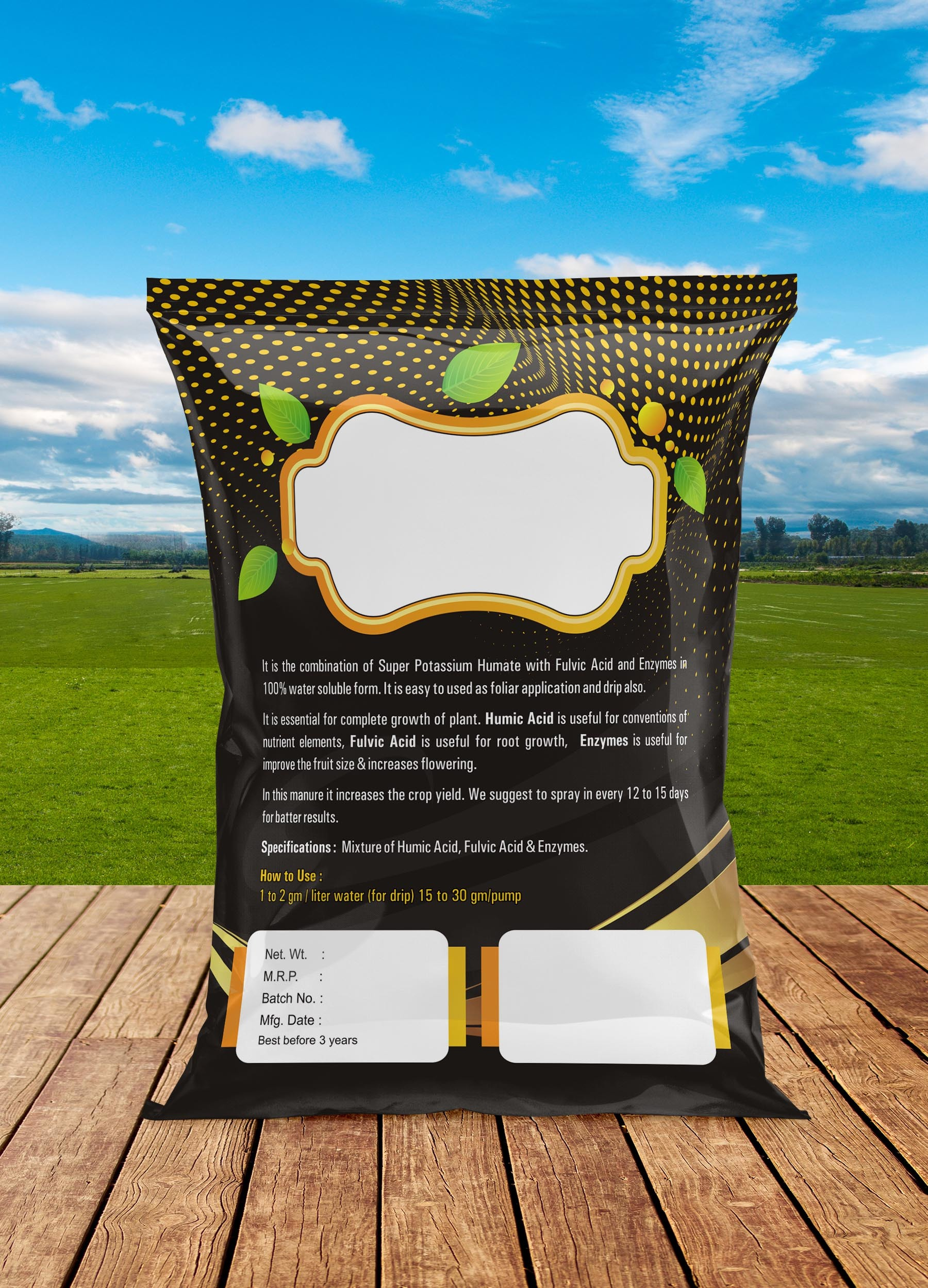 Common packing pouch Humic - 1 kg