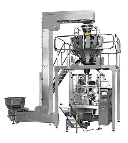 Snacks Packaging Machine With Multihead Weigher