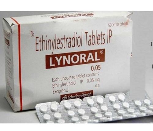 ethinylestradiol 0.05 mg tablet
