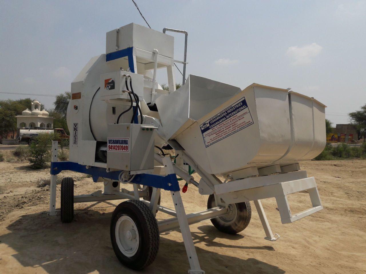 Mini Mobile Concrete Batching Plant Vkrm800