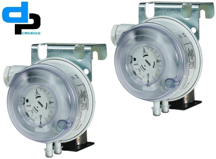 Huba Differential Pressure Switch Range 500 To 2000 Pac