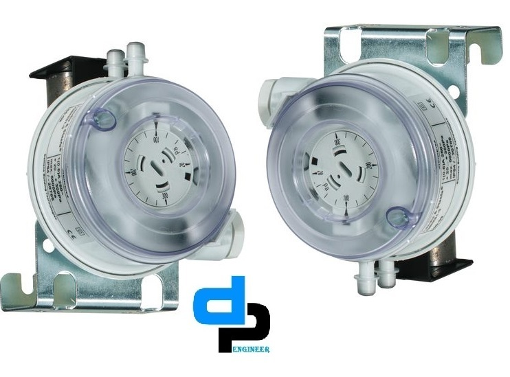 Huba Differential Pressure Switch Range 50 To 500 Pac