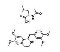 R-TETRAHYDROPAPAVERINE-N-ACETYL-L-LEUCINATE 141109-12-8