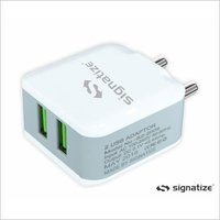 Dual Port Charger Adapter