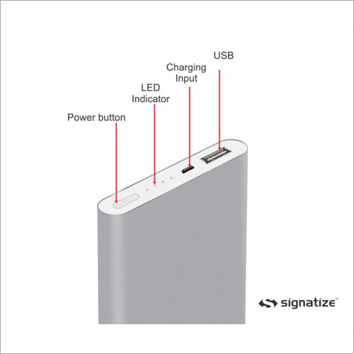 Metal Surface Power Bank