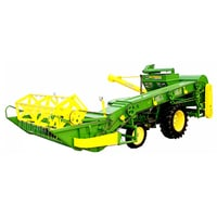 Mini Combine Tractor Harvester Machine