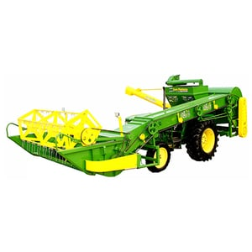 Mini Combine Tractor Harvester Machine