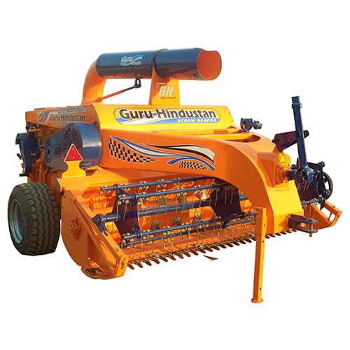Straw Reaper Machine