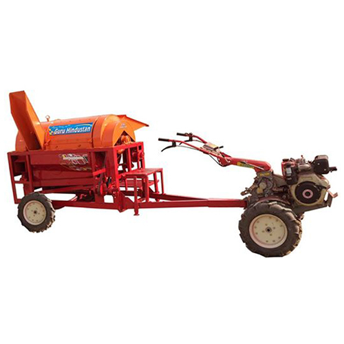 Power Tiller Operated Paddy Thresher Machine