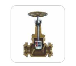 Cast Iron Metal Seat Flanged Connection - Type CIMSF