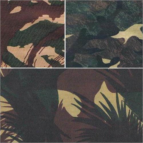 PU Coated Camouflage Fabrics
