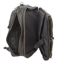 Leather laptop bag