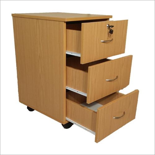 Wooden Mobile Pedestal Unit