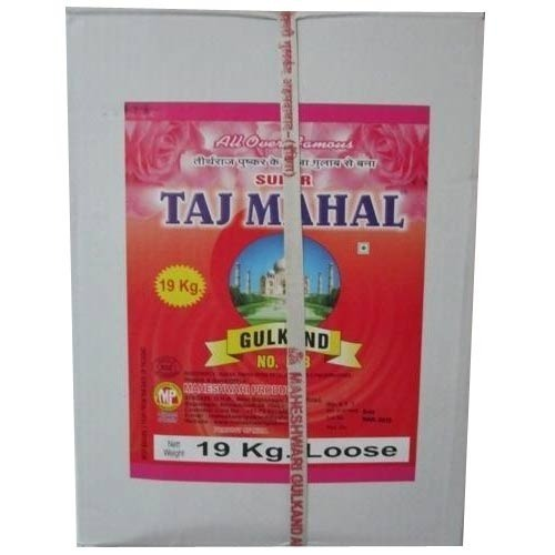 19 kg Loose Gulkand Paste Container