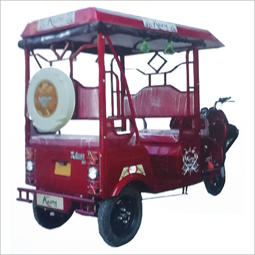 Heavy Duty E- Rickshaw