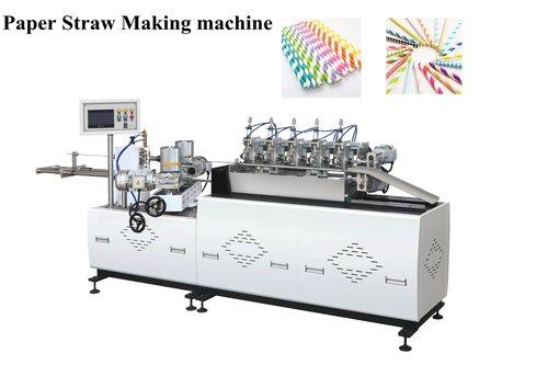 multi color Paper Straw Making Machine