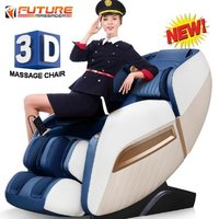 Zero Gravity 3D Full Body Luxury Massage Chair with Bluetooth and USB (Junior Roboking)