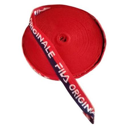 Red Jacquard Cloth Tape