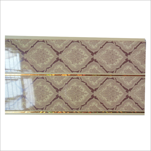 Decorative Groove Design PVC Ceiling Panel