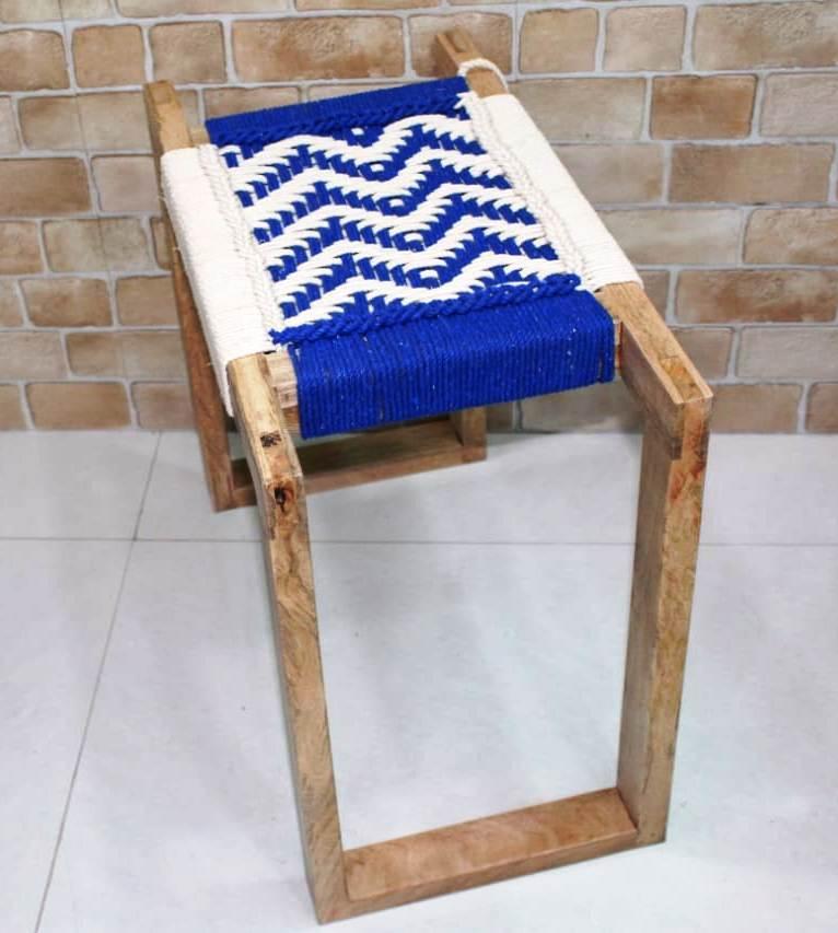 Modern Jute Rope Garden Chair, Garden Bench, Modern Stool, Garden Stool, Coffee Table, Charpai